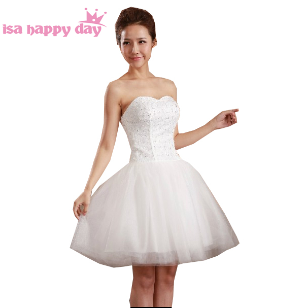 girl robe soiree short ball woman strapless   dress   fashion party modern formal   dresses   for parties for teens   cocktail   H587