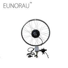 Новый 48V1000W MAC редукторный задний 8 T Кассетный концентратор велосипед с электродвигателем комплект 26 «27,5» 28 «колесо для электрического велосипеда конверсионный комплект 45 км/ч