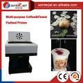 Завод предложил DIY кофе Планшетный Принтер и Латте арт Кофе печатная машина