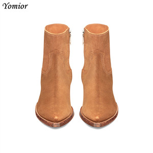 Image 3 - New Classic Brand Design Genuine Leather Men Ankle Boots Fashion Autumn Winter High Quality Chelsea Boots Dress Platform Boots