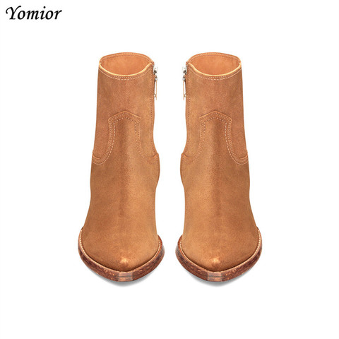 New Classic Brand Design Genuine Leather Men Ankle Boots Fashion Autumn Winter High Quality Chelsea Boots Dress Platform Boots Karachi