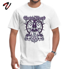 Electric Wizard Purple Fashion Personalized T Shirts All Cotton One Punch Man Tops & Tees for Men Tee-Shirt