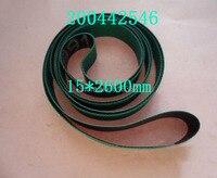 200442546 Charmilles 15 x 2600 mm verde ( um lado )  Fio EDM peças máquina de baixa velocidade|charmilles parts|parts machine|belt machine -