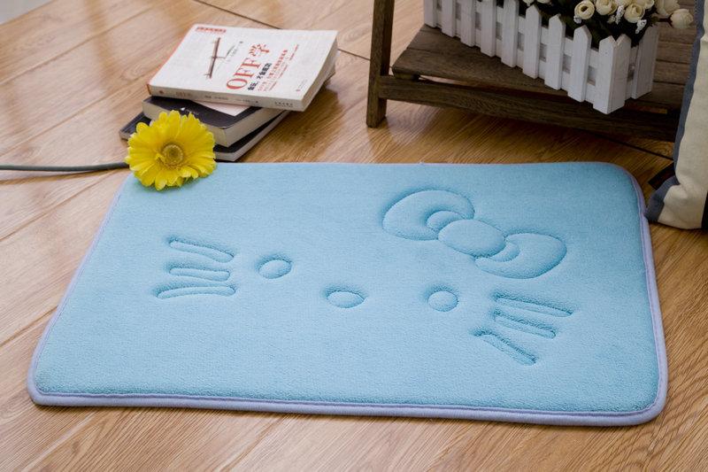 Antiscivolo velluto bagno zerbino assorbente tappetino da bagno