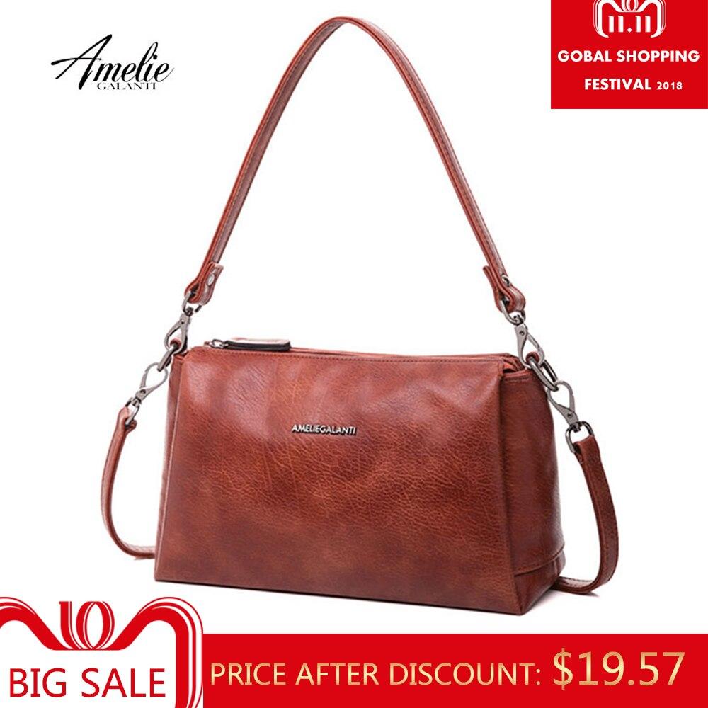 AMELIE GALANTI Стильная сумочка, большая емкость, много карман, удобно и практично, стильный, высокое качество PU