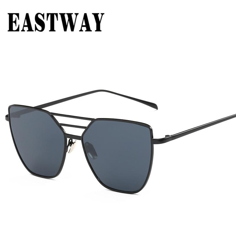 8cfbdc556 2019 New Fashion Women Sunglasses Retro Brand Designer Sunglasses Men  Coating Vintage Mirror Glasses Square Sun