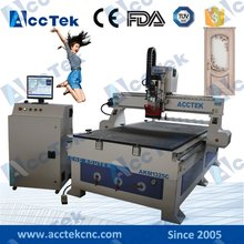 AKM1325C ATC cnc router auto tool change ,Chinese air cooling spindle,8 tools