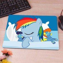 My Little  Rainbow Dash wallpaper New Anti-Slip Mouse Pad PC Game Gaming Mouse Pad