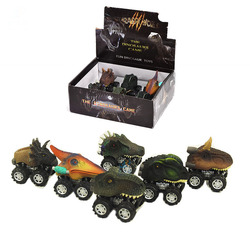 Dinosaur Mini Model Pull back racing Children's Collection Educational Toys Gifts Suitable for Children Baby Early Learning Fun