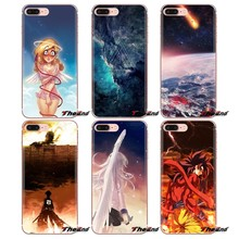 Galaxy Angel (Dub) wallpaper For Xiaomi Redmi 4A S2 Note 3 3S 4 4X 5 Plus 6 7 6A Pro Pocophone F1 Soft Transparent Cases Covers(China)