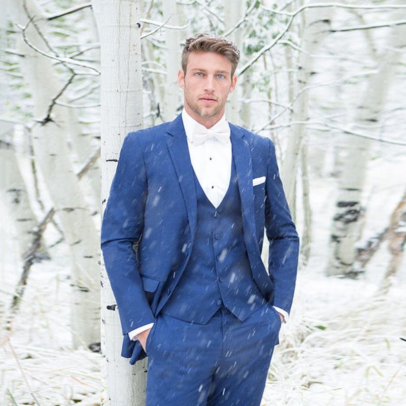 2018 latest men designs Suit royal blue men suits for wedding Costume Mariage Homme terno smart casual slim fit tuxedo 3 pieces