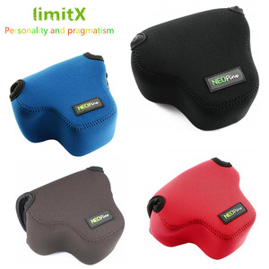 Image 1 - Portable Protective Neoprene Soft Inner Case Cover camera bag for Canon EOS M50 M6 Mark II with 15 45mm lens Digital Camera ONLY