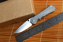 Fule small sebenza 25 inkosi D2 TC4 titanium handle folding knife camping hunting outdoor survival tool pocket EDC Knives tools