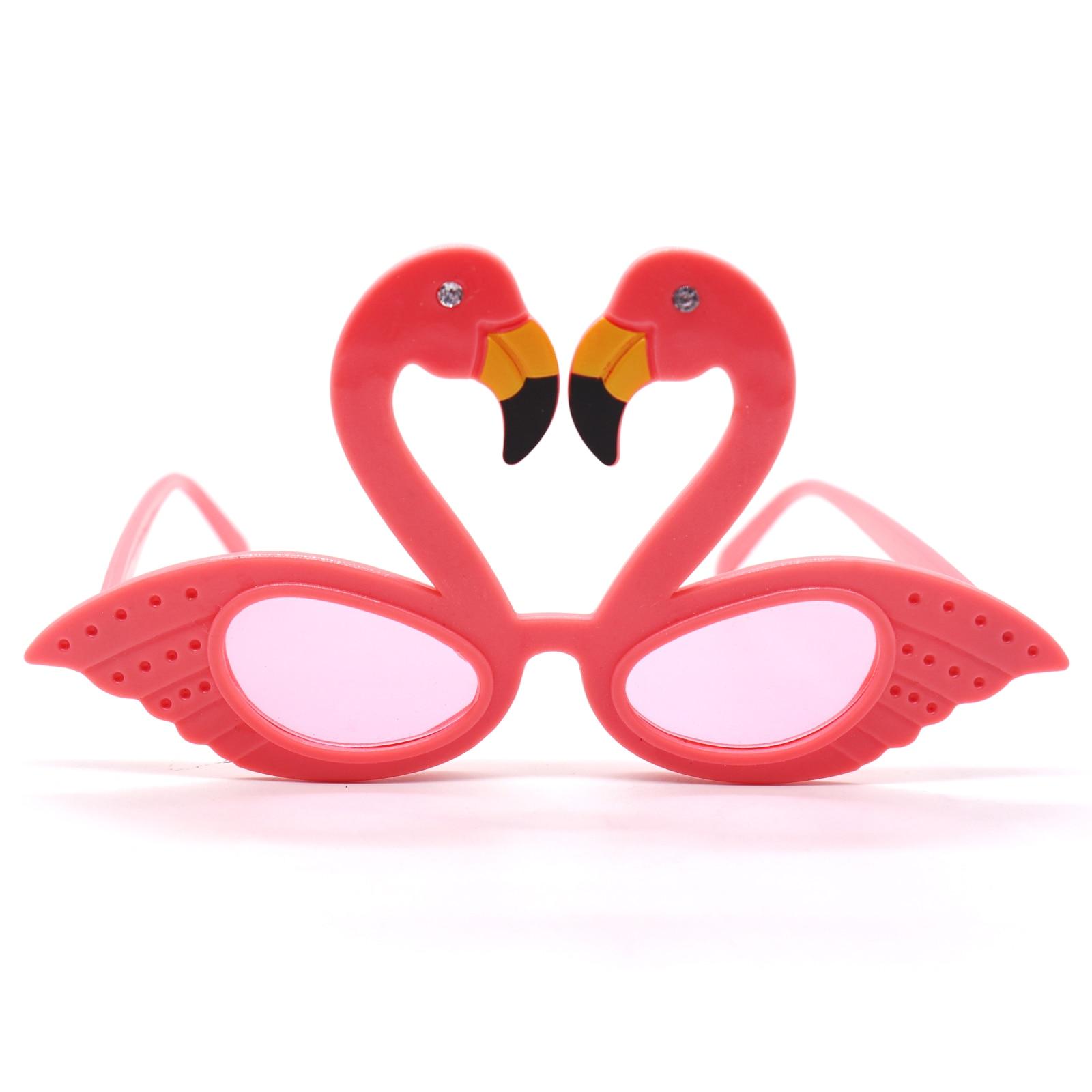 Hawaiian Tropical Floral /& Flamingo CockTail Novelty Sunglasses Fancy Dress