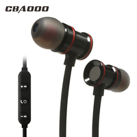 CBAOOO C30 Sports Bluetooth Headphone SweatProof Earphone Magnetic Earpiece Stereo Wireless Headset For Mobile Phone