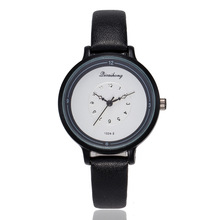 купить New Fashion Simple Watch Women Elegant Leather Dress Wrist Watches For Woman Casual Quartz Watch Ladies Clock Horloges Vrouwen дешево