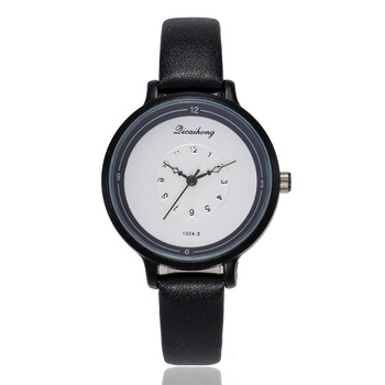 New Fashion Simple Watch Women Elegant Leather Dress Wrist Watches For Woman Casual Quartz Ladies Clock Horloges Vrouwen