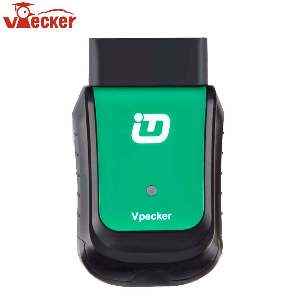 VPECKER WIFI OBD2 V11.2 Completa Do Sistema de Diagnóstico Do Carro do Scanner Scanner para Multi-Veículos Da Marca Ferramenta Autoscanner Mesmo como Easydiag
