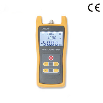 Professional Frequency Meter -70~+6dBm Fiber Optic Tester Power Meter Digital Live Fiber Identifier Optical Fiber Identifier
