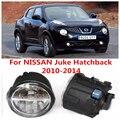 Para NISSAN Juke Hatchback 2010-2014 Faros Antiniebla luz Blanca 6000 K 2 UNIDS