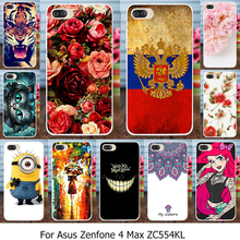 Phones Telecommunications - Mobile Phone Accessories  - Silicone Phone Cover Cases Capinha For Asus Zenfone 4 Max ZC554KL Zenfone4 Max 5.5 Inch Cover Carcasa TPU Painted Case Housing