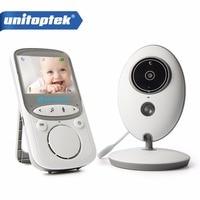 2 4 Inch 2 4GHz Wireless Video Baby Monitor Color Camera Intercom Audio Night Vision Temperature