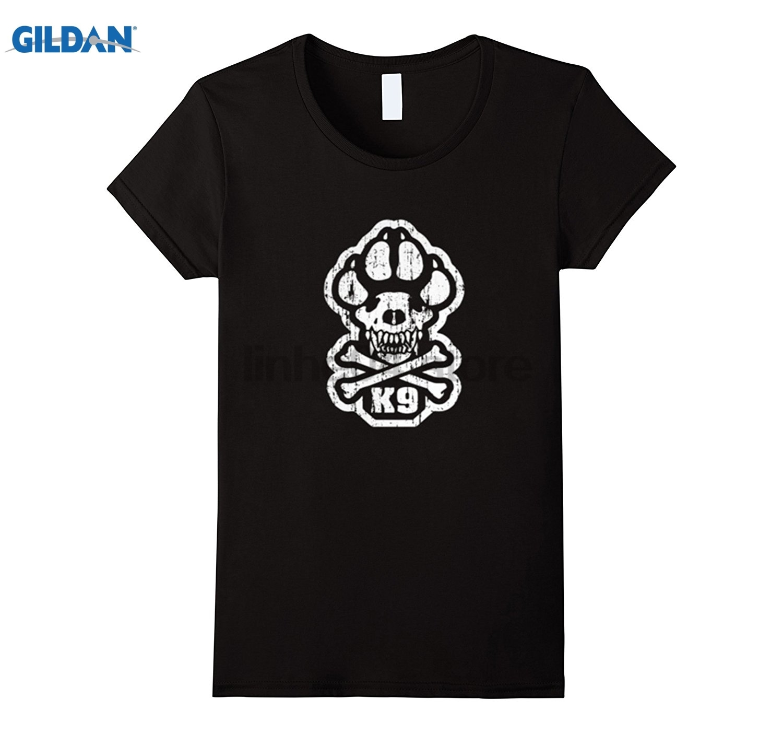 GILDAN K9 Warrior shirt dress T-shirt