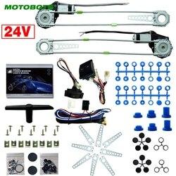 MOTOBOTS samochód/ciężarówka przodu 2-drzwi elektryczne okno zestawy z 3 sztuk/zestaw przełączniki i uprząż DC24V # HQ2979