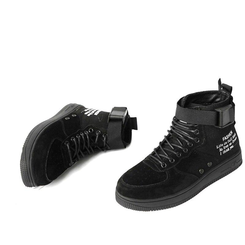Femmes bottes pour sport style casual cheville chaussures à lacets casual cheville chaussures zapatos de mujer zapatos de hombre sapatos mulher bottes - 5