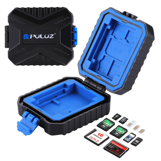Camera Memory Card Case Holder Waterproof  XQD CF TF SD Card Box Storage Package Card Cases