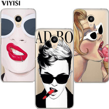 VIYISI Personalise Character For Meizu U20 10 M6 5 Note M5S 5C M3s 3Note Pro6 Soft TPU Painted Phone Case Shell Cover