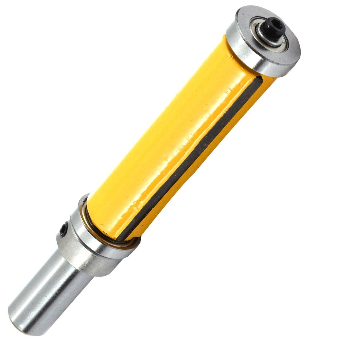 1 stück Flush Trim Muster Router Bit 1/2 ''Schaft Top & Bottom Lager Fräsen Cutter Für Holzbearbeitung Werkzeug