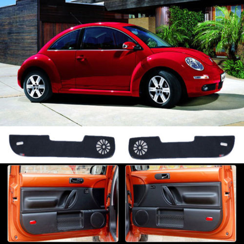 Brand New 1 Set Inside Door Anti Scratch Protection Cover Protective Pad For VW Beetle 2004-2010