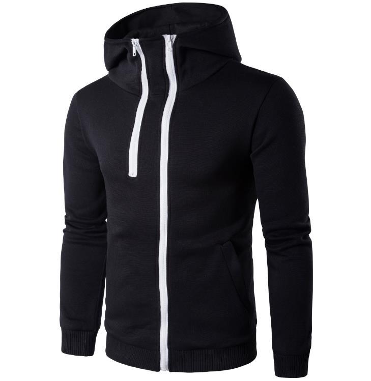 Matterin Christiao 3D Wolf Mens Hoodies New Zipper Autumn Pullover Hoodie Sweatshirt Casual Outwear Jacket Coat