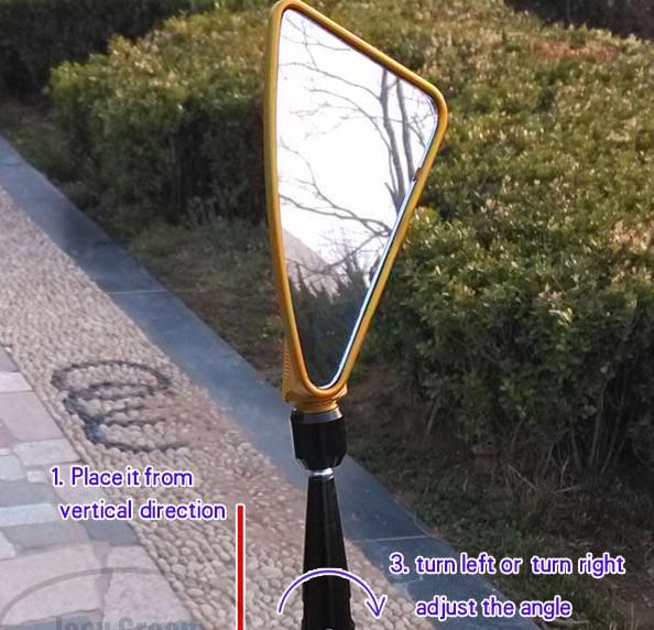 Pulsuz çatdırılma, 2 ədəd / təyin olunmuş Universal Arka - Motosiklet aksesuarları və ehtiyat hissələri - Fotoqrafiya 3
