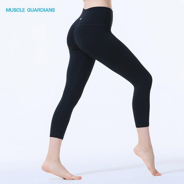 Yoga Pantalon Femmes En Cours de Danse Recadrée Leggings Taille Haute  Stretch Pantalon Femmes Sport Leggings 47ad16d1b96