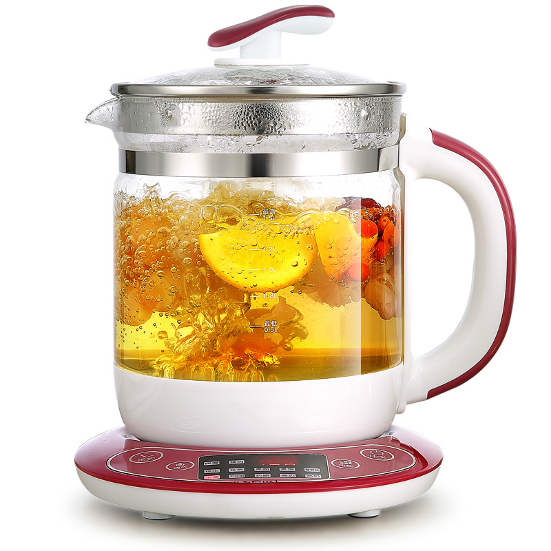 NEW High quality Electric kettle Fully automatic and thickened glass multi-function electric heating black tea pot boiling fully automatic thickened glass multi function electric heating kettle flower pot boiling tea ware anti dry protection