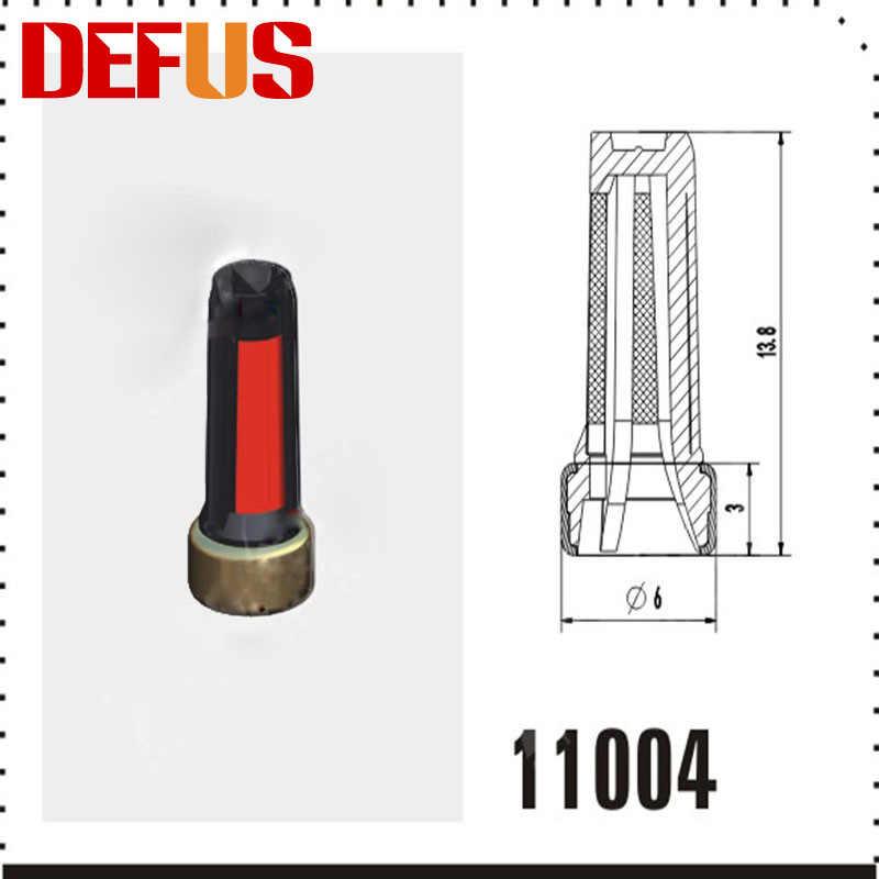 20ピースブランドdefus 14*6*3ミリメートル燃料噴射装置マイクロフィルターバスケット自動スペアパーツ用日本車修理高品質ホット販売