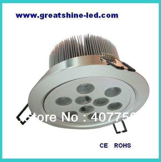 USB dmx cntroler 4 ledningsanslutning rgb dmx 9X1W led takljus DC 12V - LED-belysning