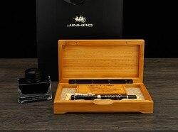 Jinhao starożytny szary chiński orientalny smok wieczne pióro z oryginalnym pudełku darmowa wysyłka