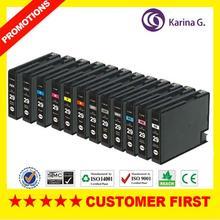 Whole set compatible ink cartridge PGI-29 PGI29 PGI 29 For Canon pixma PRO-1 High quality free shipping