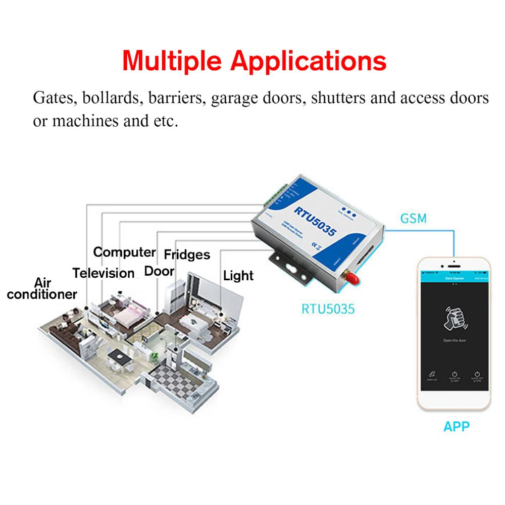 Hot Sale] 2G 3G GSM Gate Opener Relay Switch Phone Wireless