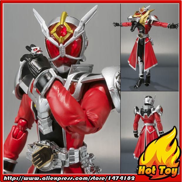 100% Original BANDAI Tamashii Nations S.H.Figuarts (SHF) Action Figure - Wizard Flame Dragon from Kamen Rider Wizard