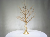 15PCS Gold Manzanita Artificial Tree 30 Table Centerpiece Party Road Lead Table Top Wedding Decoration