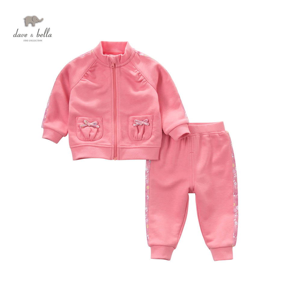 43d0dc798 DB4516 dave bella spring baby girls sports clothing sets collar ...