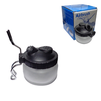 Airbrush Cleaning Pot Air Brush Cleaning Bottle Washing Tools For Paint Spray Pen 18 0023