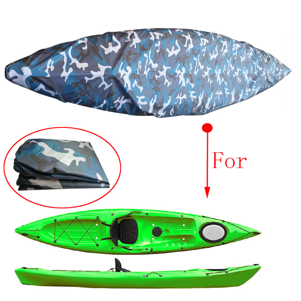 Kayak Waterproof Storage Cover Cover Dust Sunblock Cover UV Resistant Protection For Kayak Boat Canoe
