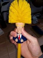 Donald Trump Toilet Brush Make Toilet Great Again Funny Gag Gift The Perfect Toilet Bowl Brush Presidential Present For Friend