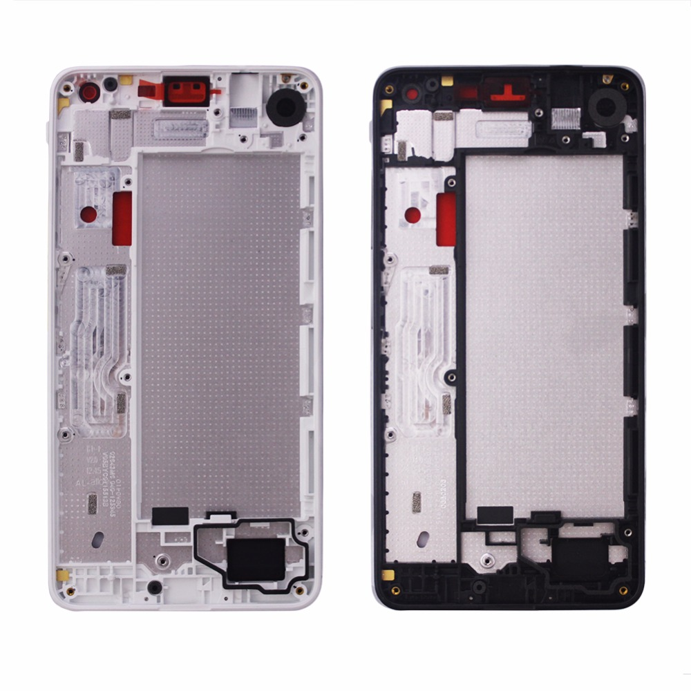 middle mid frame for nokia for microsoft lumia 650 housing cover bezel case plate shell replacement repair parts free shipping