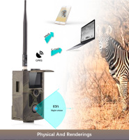 Wildlife Motion Infrared Hunting Trail Camera HC500M With Gsm Mms Gprs 940NM Night Vision Trail Camera
